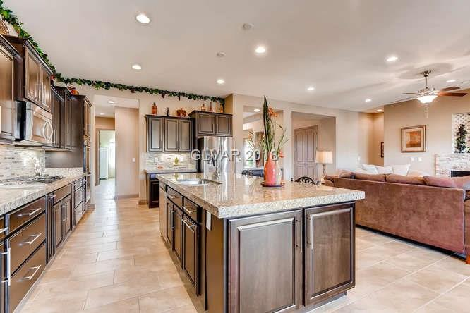 MLS 1967345 kitchen in Centennial Hills home, Las Vegas