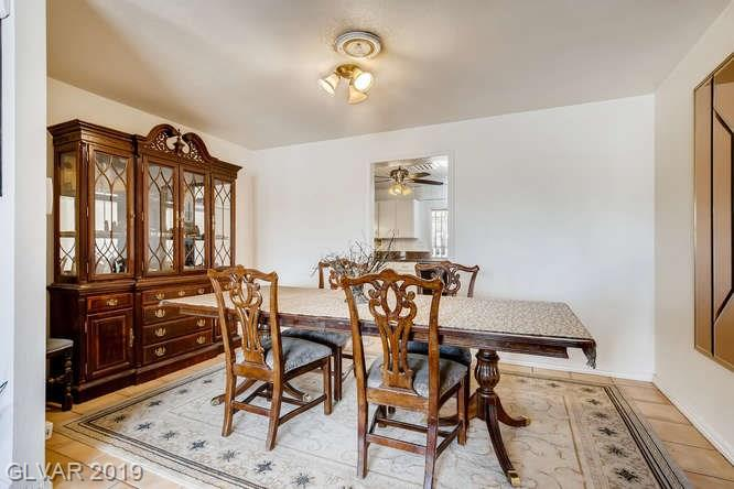 Las Vegas home - MLS #2135477 - dining room photo