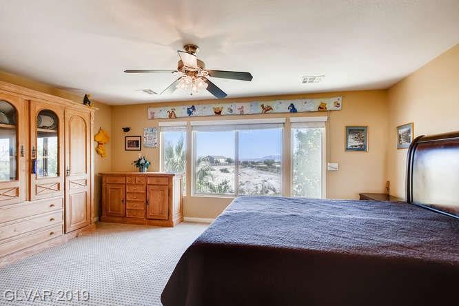 Bedroom in Aliante home in North Las Vegas