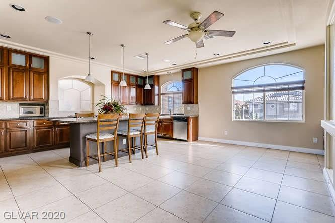 Kitchen in Silverado Ranch home, Las Vegas