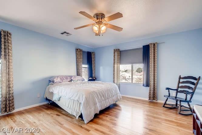 Master bedroom in Las Vegas home