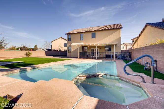 Las Vegas home with a pool