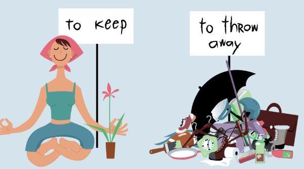Declutter meditation