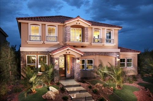 American west homes las vegas new homes floorplans for New american home las vegas