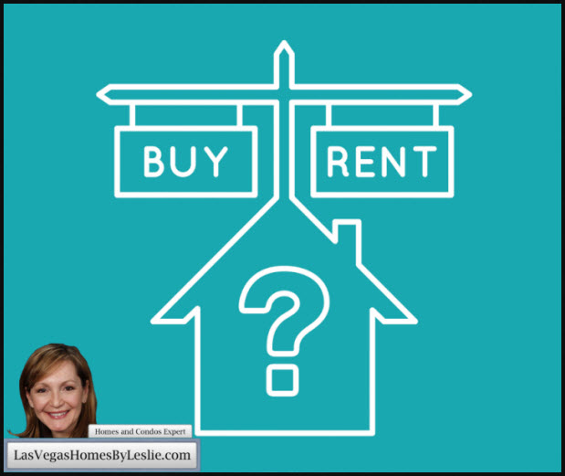 Buying vs Renting Homes In Las Vegas