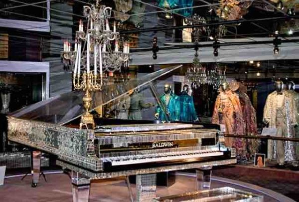 Creepy Liberace museum