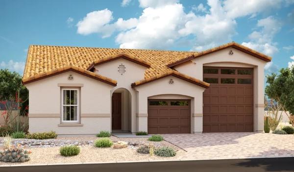 Damon homes by Windham w/ RV Garage - Richmond American Builder