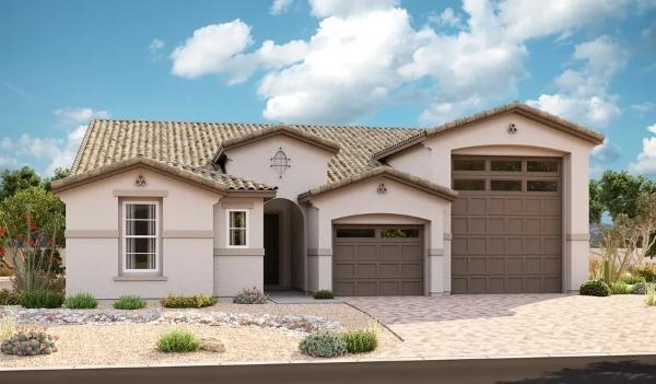 Deacon homes by Windham w/ RV Garage - Richmond American Builder