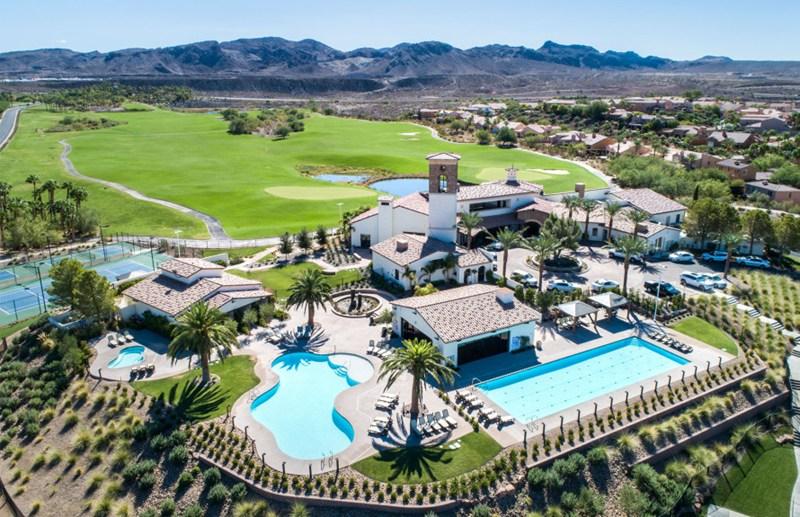 Del Webb homes in Lake Las Vegas