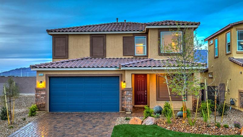 D.R. Horton homes in North Las Vegas