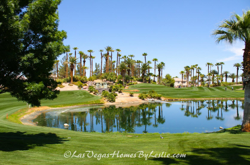 Las Vegas Homes for Sale on Golf Courses - Rhodes Ranch Community