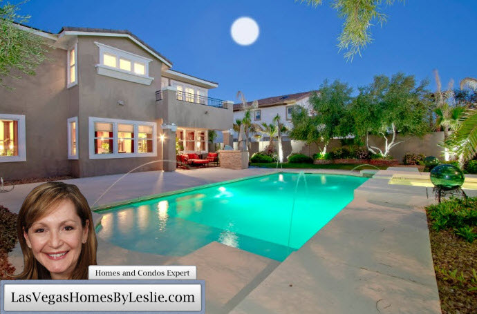 Las vegas homes for sale with swimming pools for Houses for sale pool