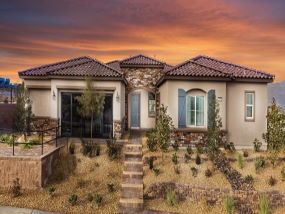 Lennar homes in Emerald Crest, Las Vegas, NV