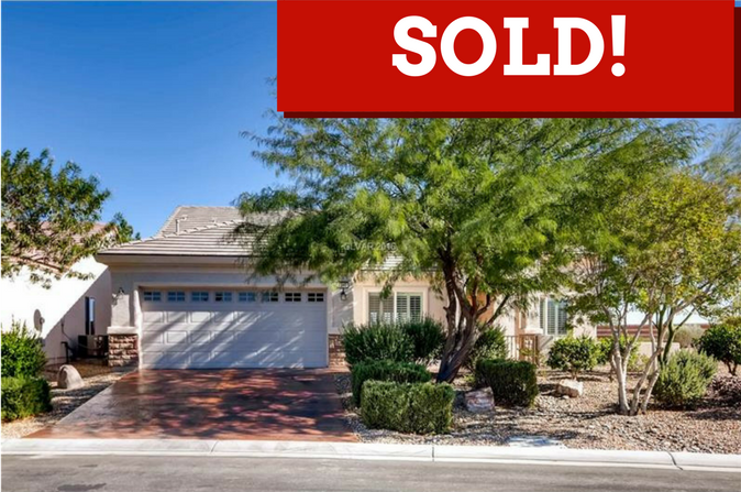 Sun City home sold in Las Vegas