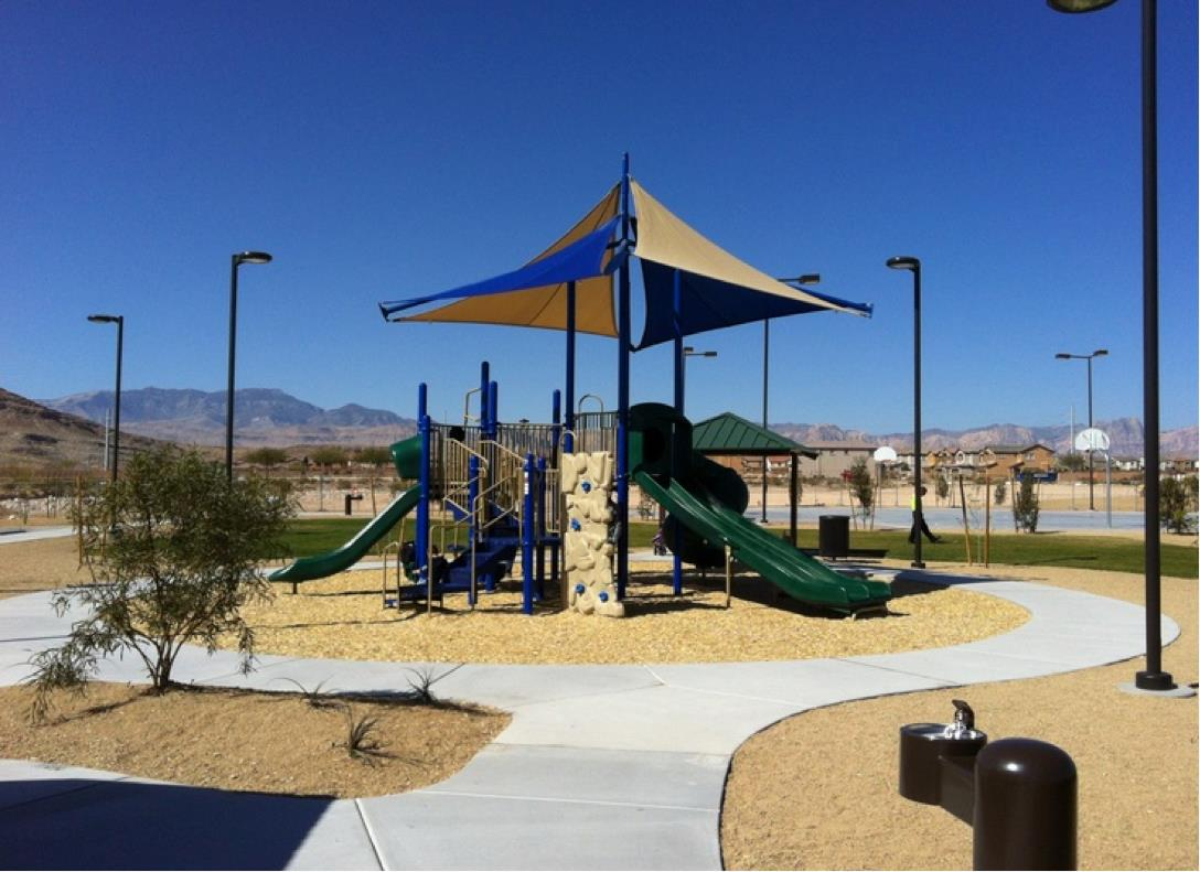 Nathaniel Jones Park in Mountains Edge, Las Vegas