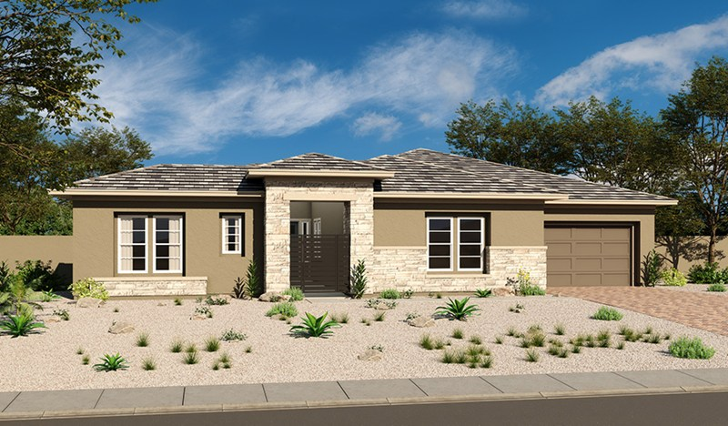 Richmond American home in Scots Pine at Stonebridge, Summerlin - Raven model