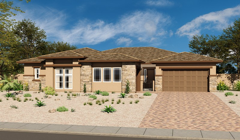 Richmond American home in Scots Pine at Stonebridge, Summerlin - Ryder model