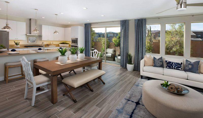 Interior shot of Taylor Morrison home in Revo at Infinity, Las Vegas