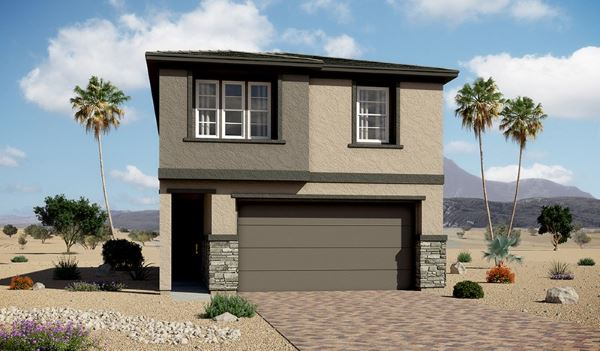 Richmond American home - Everette - Skye Knoll at Stonebrige in Summerlin