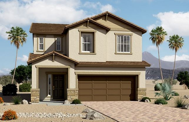 Richmond American homes in Summit Knoll, North Las Vegas
