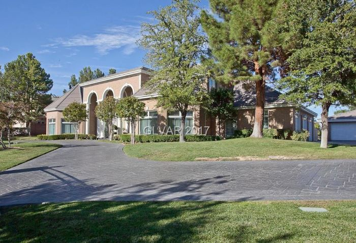 Home for sale at 9008 Players Club Drive, Summerlin, Las Vegas