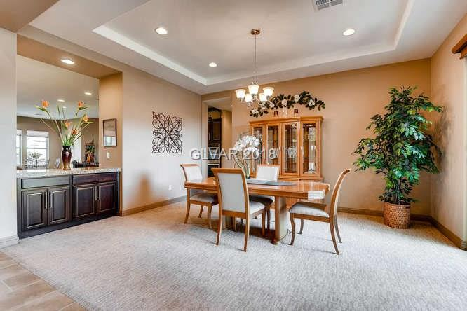 MLS 1967345 dining room in Centennial Hills home, Las Vegas