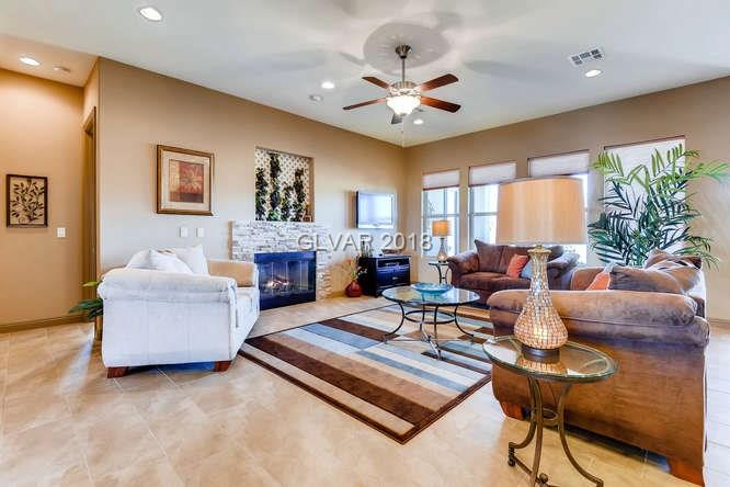 MLS 1967345 family room in Centennial Hills home, Las Vegas