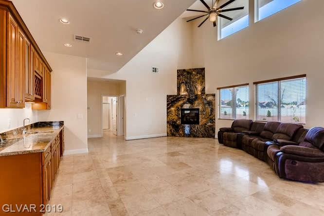 Family room in Silver Springs home