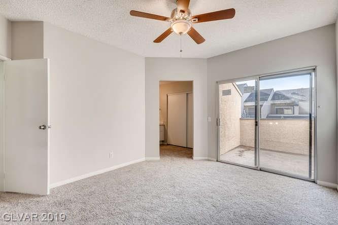 Arbors condo in Las Vegas - master bedroom