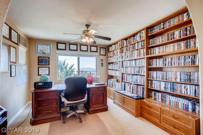 Office in Aliante home in North Las Vegas