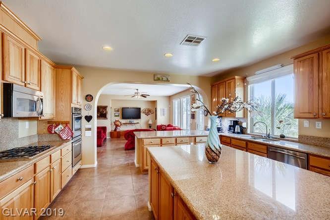 Kitchen in Aliante home in North Las Vegas