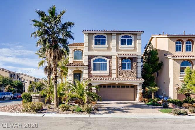 Front of home at 10759 Meridian Mills Road, Las Vegas, Nevada 89052