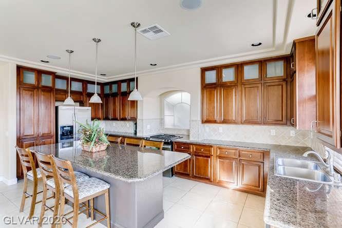 Kitchen in Silverado Ranch home, Las Vegas
