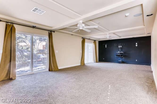 Great room in home at Silverado Ranch
