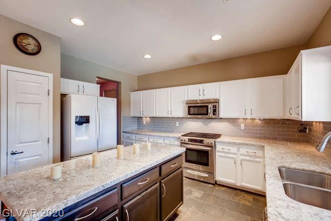 Kitchen in Las Vegas home