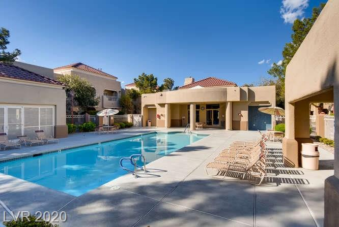 Summerlin condo in La Posada - community pool