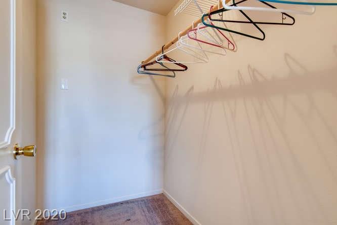 Summerlin condo in La Posada - closet