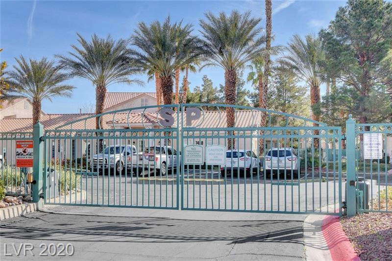 Gated entry to Southpark condo Las Vegas