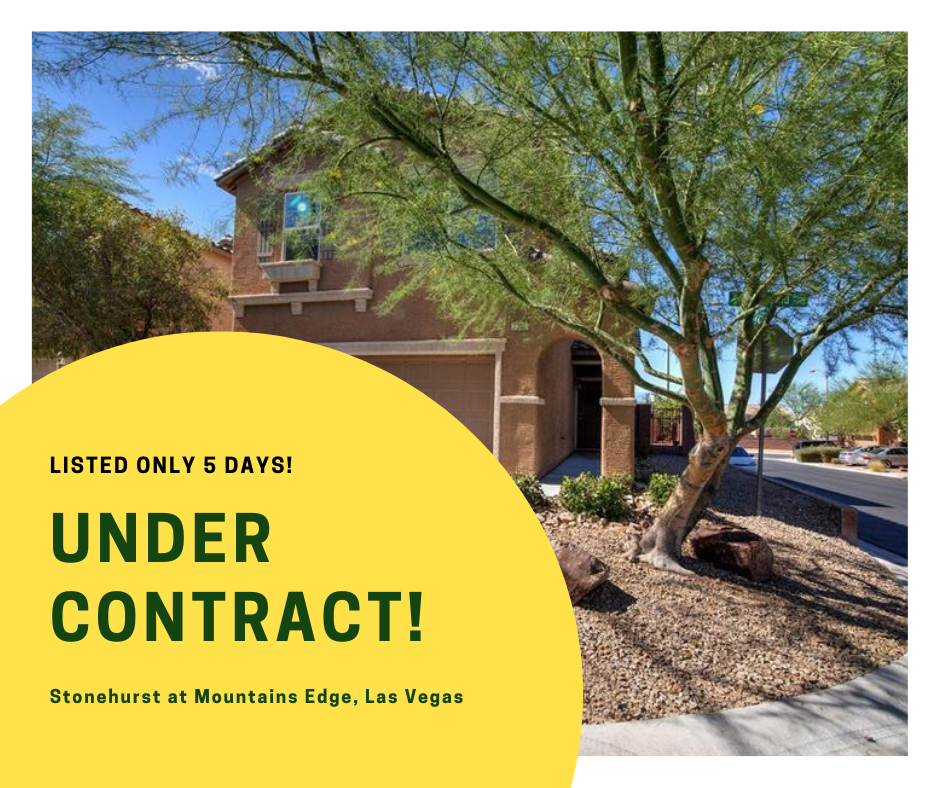 Home in Stonehurst At Mountains Edge - UNDER CONTRACT AFTER 5 DAYS!