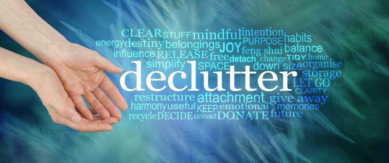Decluttering image