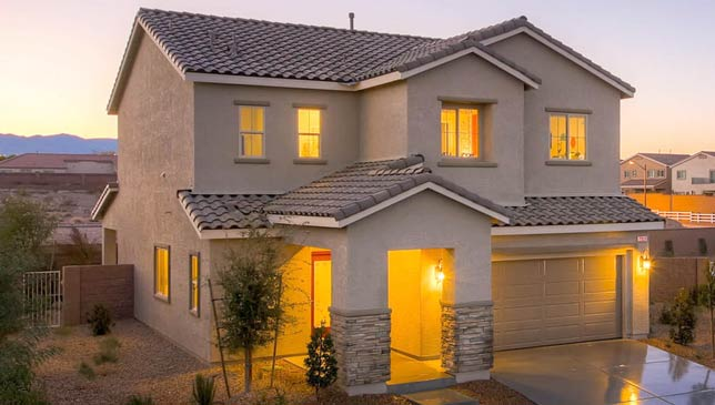 D.R. Horton homes Las Vegas