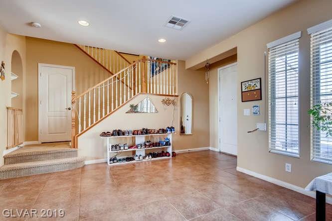Entry to Aliante home in North Las Vegas