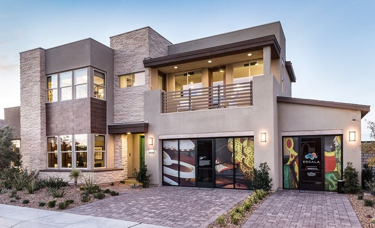 Luxury homes in Escala, Henderson by Pardee Homes