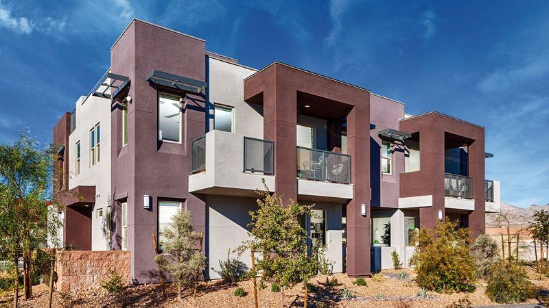 Homes in Evoke at Affinity in Summerlin, Las Vegas, by builder Taylor Morrison
