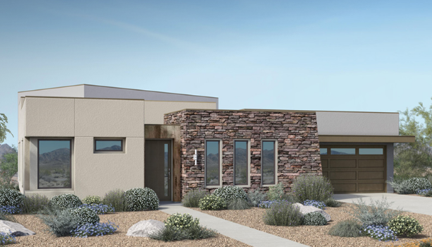 Onyx homes in Granite Heights in the Cliffs, Summerlin