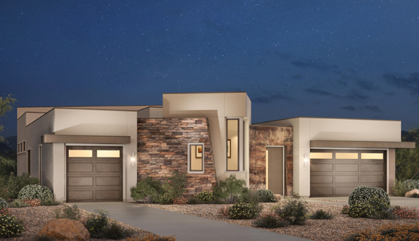 Topaz homes in Granite Heights in the Cliffs, Summerlin