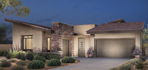 Toll Brothers home model Indigo in Ironwood at the Cliffs, in Summerlin