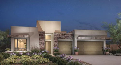Toll Brothers Jade home model in Ironwood at The Cliffs in Summerlin