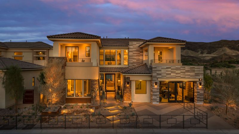 Homes in Lago Vista, Lake Las Vegas, Henderson, by builder Taylor Morrison