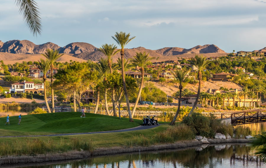 Lake Las Vegas, a master-planned community